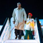 President Buhari Arrives UK