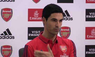 Arteta explains why arsenal draw against Burnley