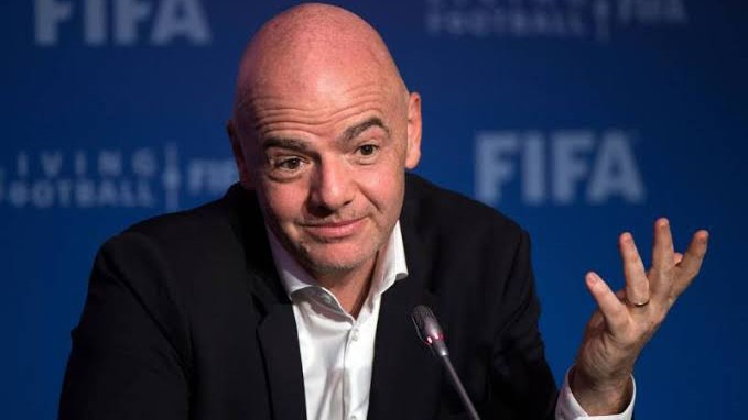 Infantino wants Afon To hold every four years