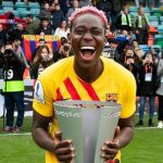 Oshoala hut brace as barca wins super cup