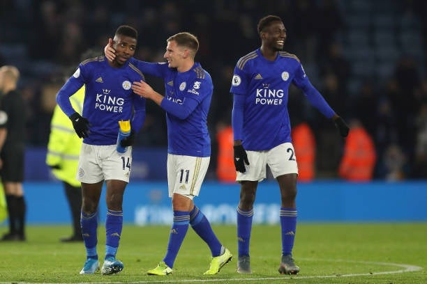 Wilfred ndidi delight over iheanacho's form
