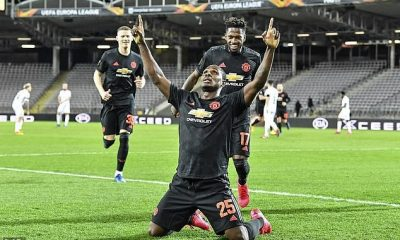 Ighalo wins Man United Goal of the month Award