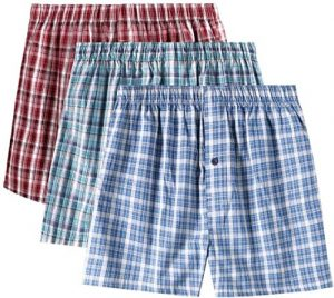 Change boxers daily to prevent groin infection