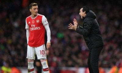 Emery makes surprise Ozil claim