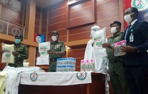 Germany Donates PPE To Nigeria Police Force