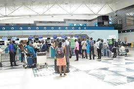 first batch of 265 Nigerians repatriated from UAE Lands at Lagos