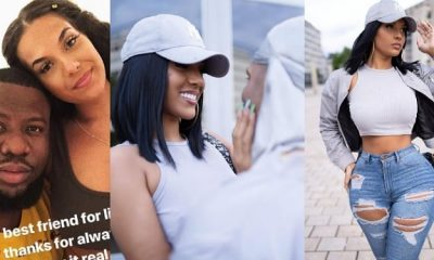 Hushpuppi's alleged girlfriend shares lovely photos with her new boo