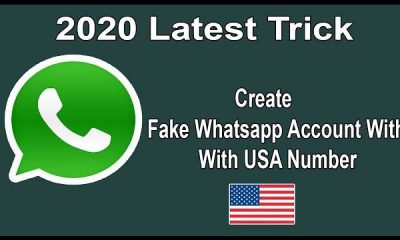 How to create U.S whatsapp number