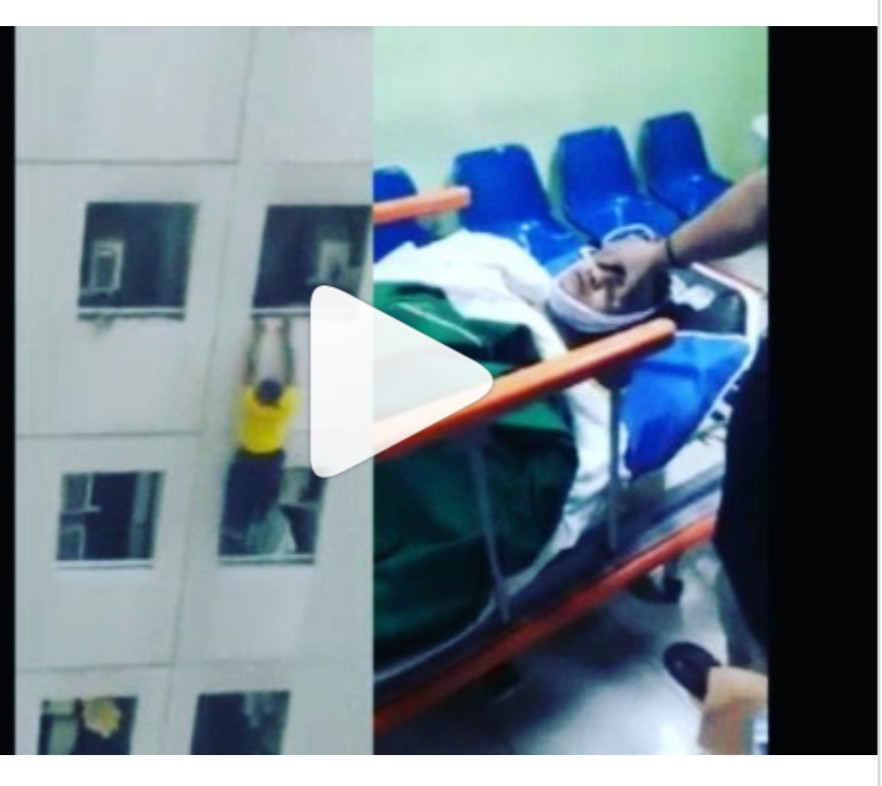 Video of Nigerian who died while running