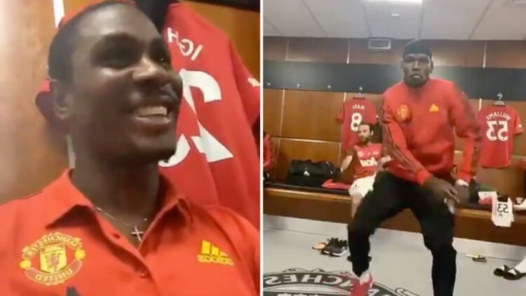 Man U stars Odion Ighalo and Paul Pogba