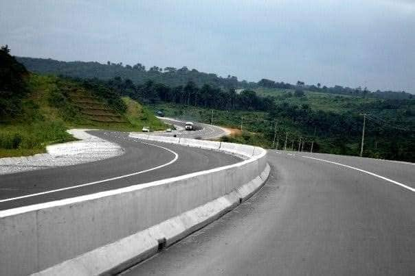 Photos of Gov Udom Emmanuel newly constructed Roads