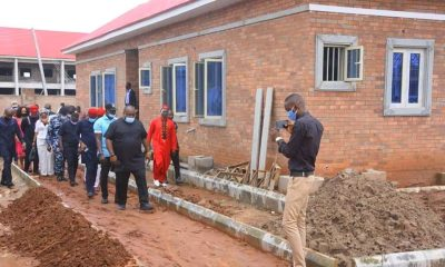 Senator Ifeanyi Ubah Inspects New NAUTH Isolation Center