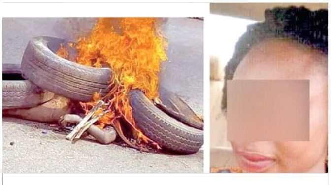 Woman Beaten And Burnt To Death For Stealing Baby