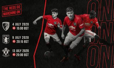 All Manchester United 2020-21 Premier League fixtures