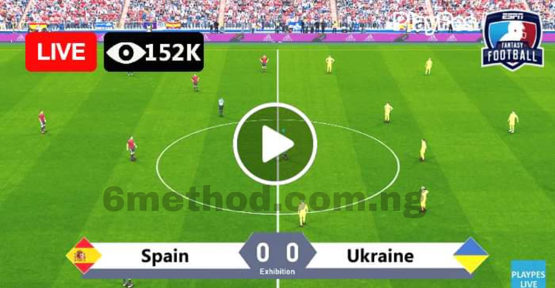 Watch Spain vs Ukraine live