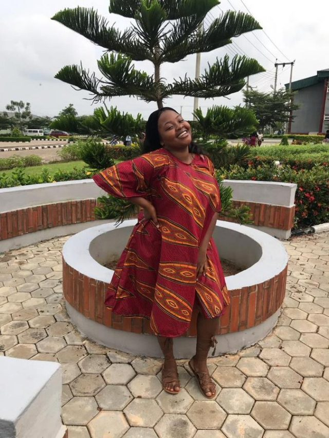 Nigerian lady who was declared missing