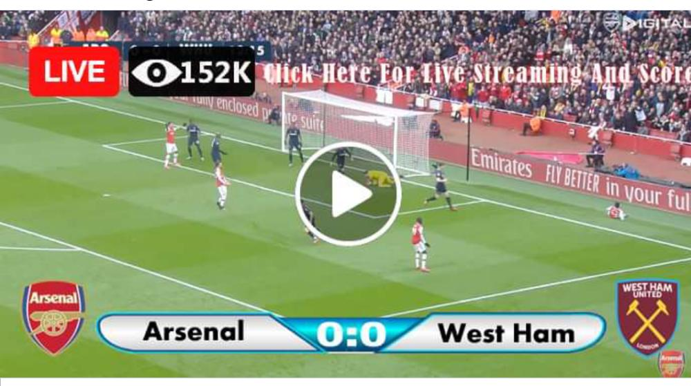 Watch Arsenal vs West Ham