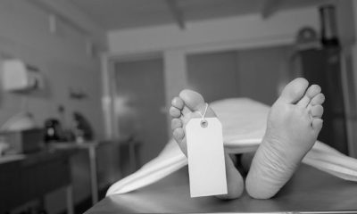 Man Breaks Into Mortuary