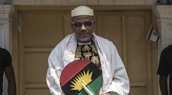 Nnamdi Kanu agree to drop Biafra agitation