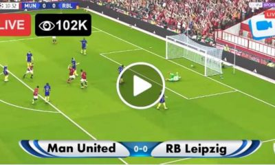 Manchester United vs RB Leipzig