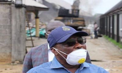 Explosions Rock Wike's Father's