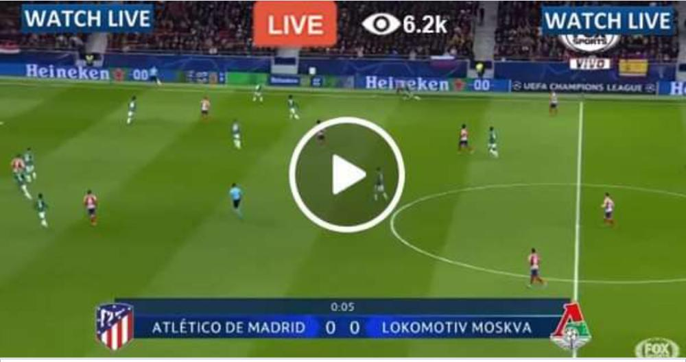 Lokomotiv Moscow vs Atletico Madrid