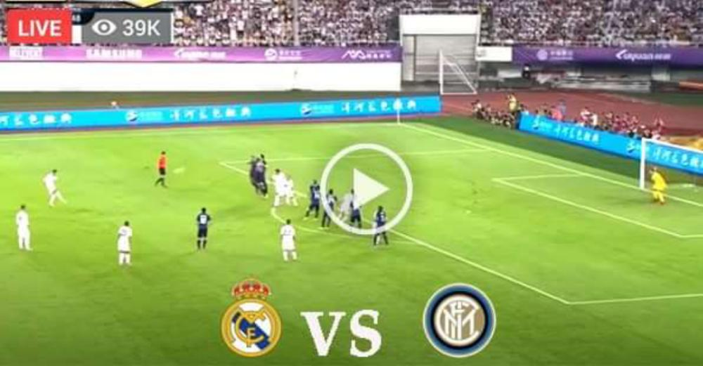 Real Madrid vs Inter Milan