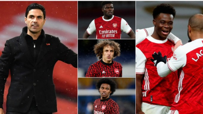 Arsenal injury updates ahead of West Brom
