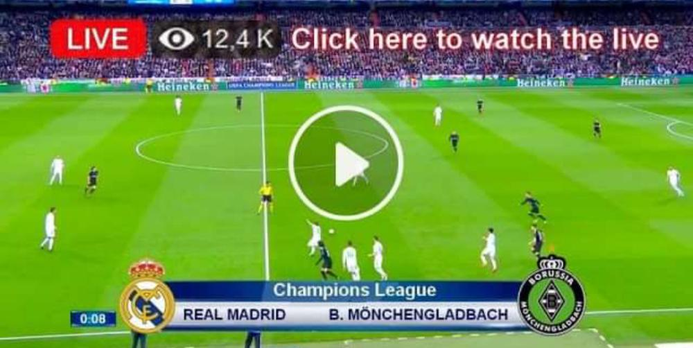 Real Madrid vs Moenchengladbach