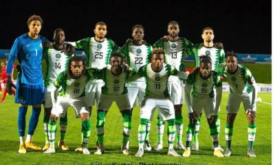 Nigeria Position In The Latest FIFA World Rankings