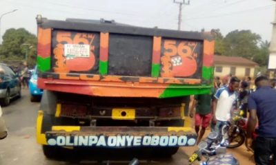 Tipper Crushes Motorcyclist To Death