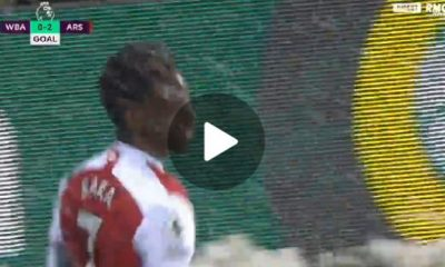 Bukayo Saka Beautiful goal