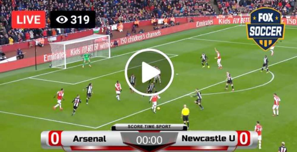 Watch Arsenal vs Newcastle
