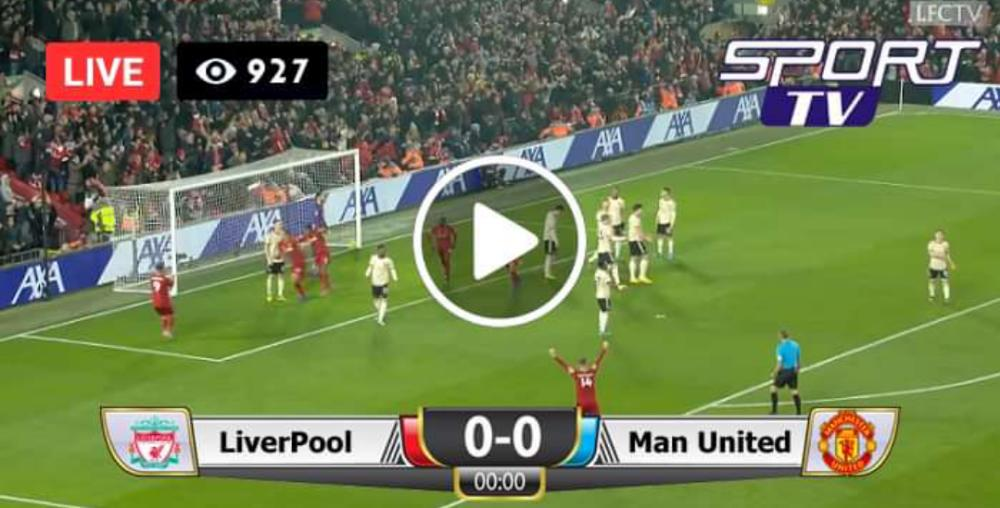 Watch Liverpool vs Manchester United