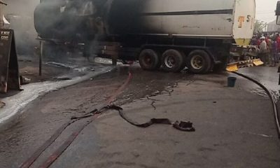 Fire Guts Filling Station