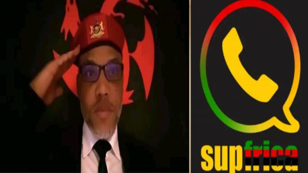 What Nnamdi Kanu Said About The New Supfrick App