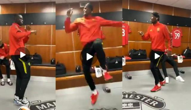 Pogba And Bailey Dance To Rema Song