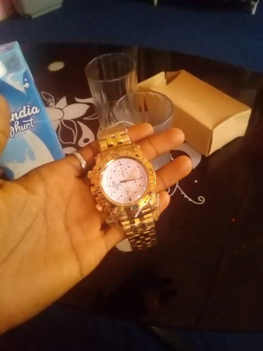 Girlfriend Surprised Me With A 22k Wrist Watch