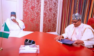 Details Of President Buhari And senate president Meeting Yesterday