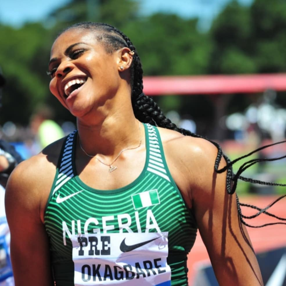 Blessing Okagbare Sets New World Record