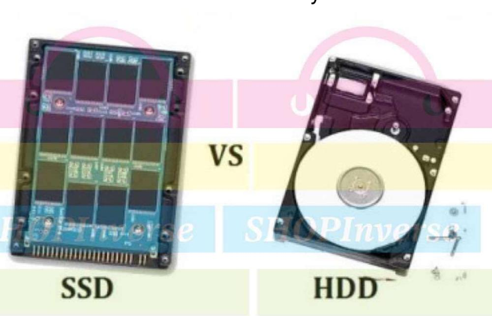 Checkout The Differences between SSD and HDD