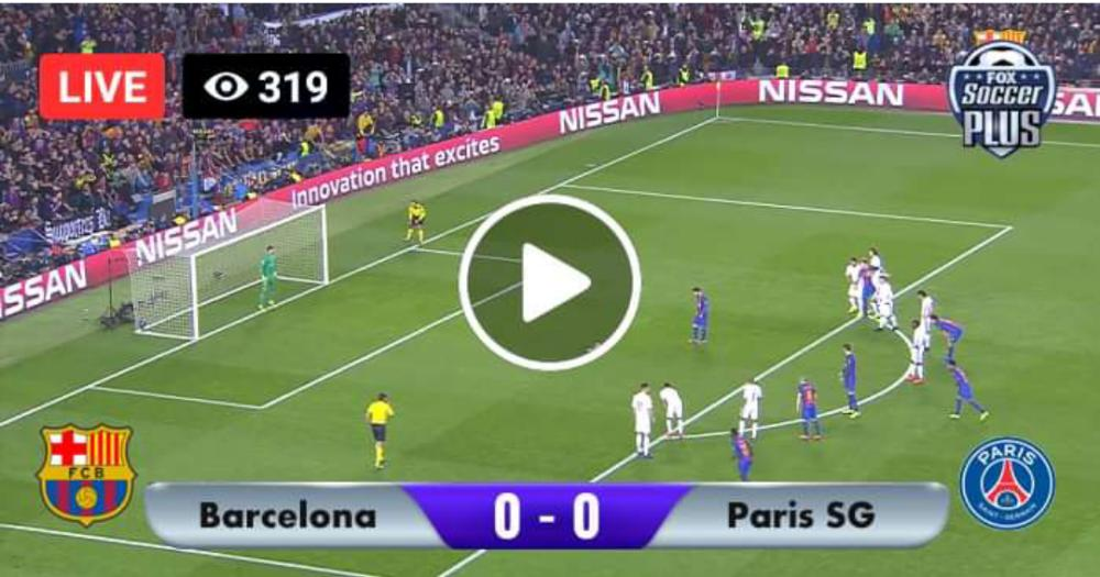 Watch PSG vs Barcelona Live Match and Goal Highlights