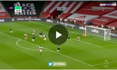 Watch Aubameyang great goal Against Leeds