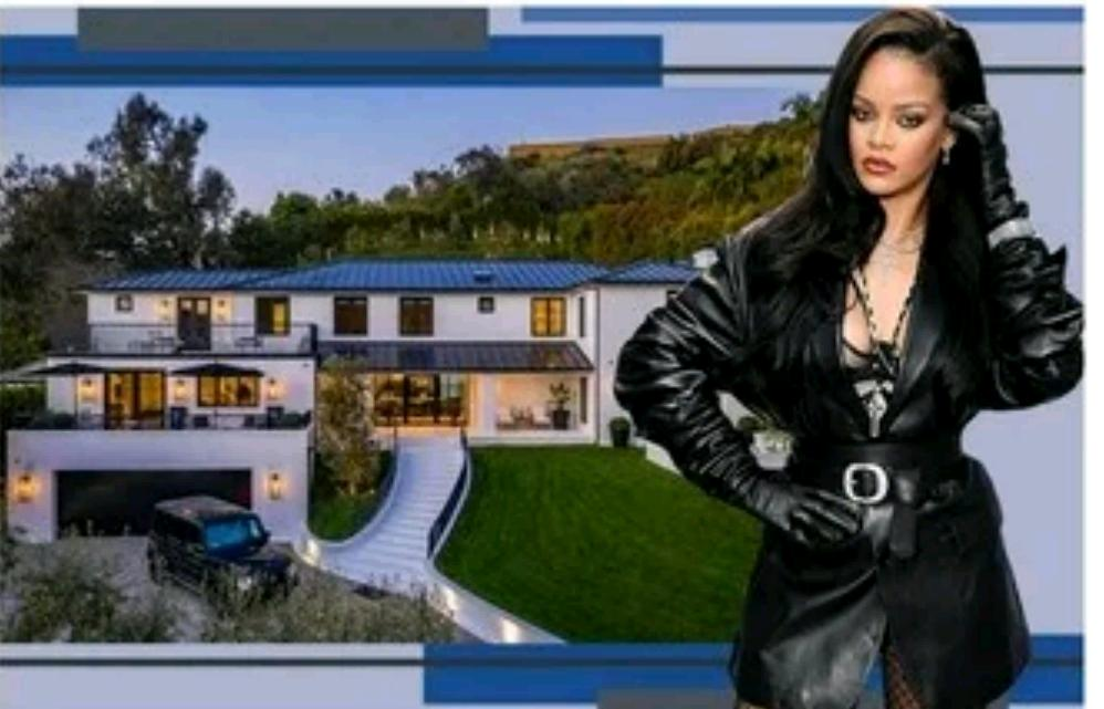 $13.8million Mansion Rihanna