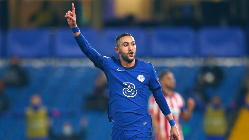 Hakim Ziyech sets new Champions League Record
