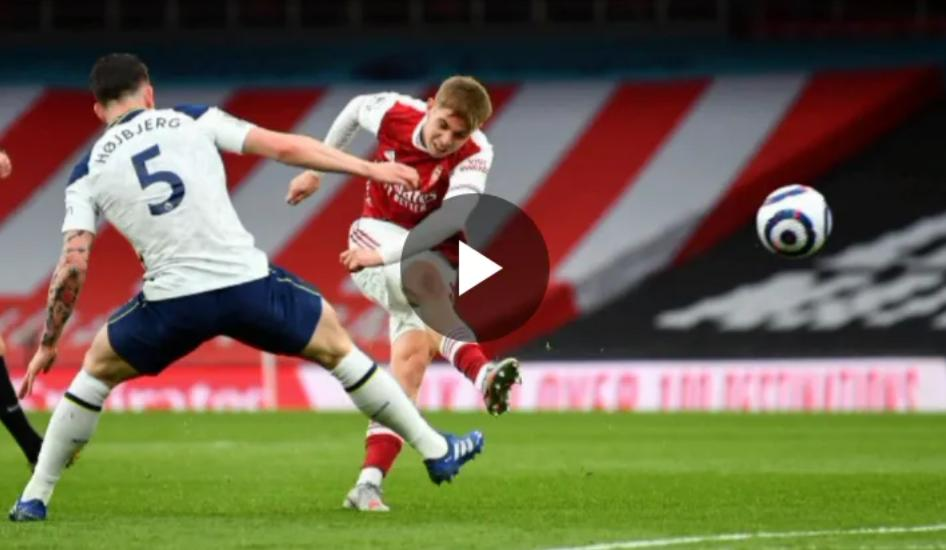 Emile Smith-Rowe performance Against Spur