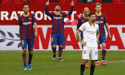 Watch Lionel Messi Wonderful Goal Against Sevilla