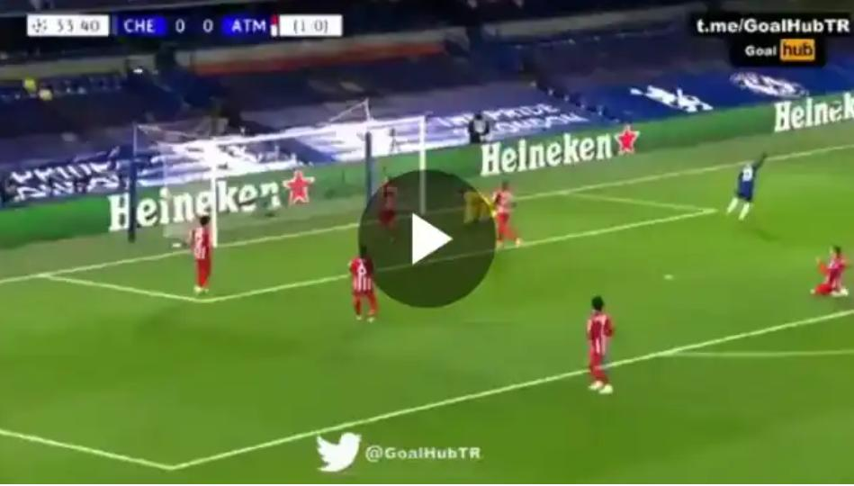 Ziyech Great Goal Against Atletico Madrid