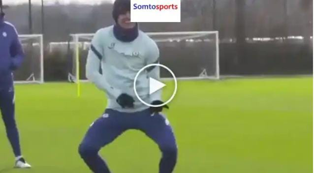 Very Funny As Mason Mount Shows Off Dancing Skills At Chelsea Training Ground