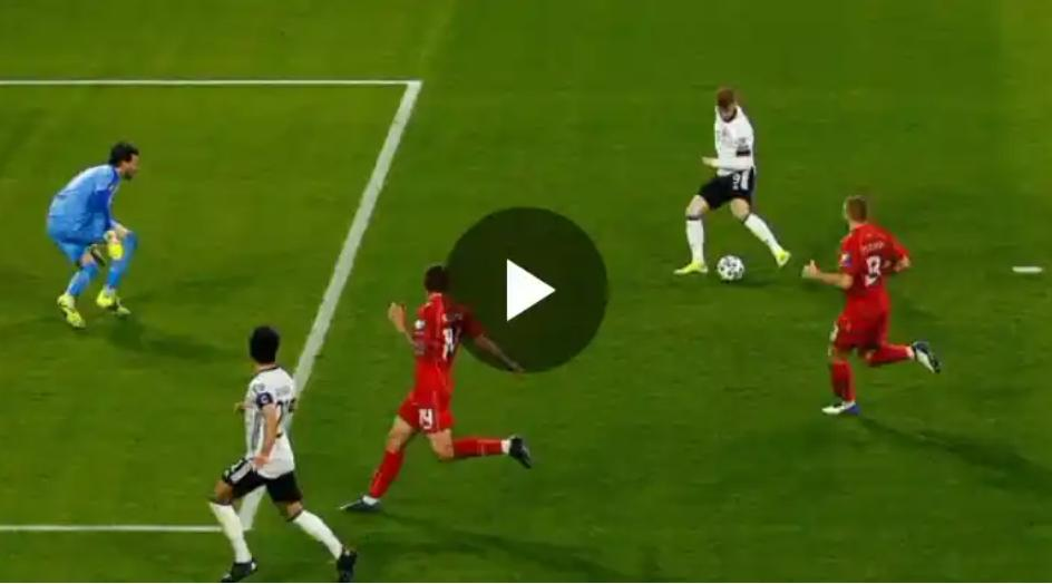 Heart Breaking: Watch Moment Timo Werner Missed A golden chance Against Macedonia